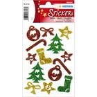 Herma: Csillogó karácsonyi matrica