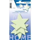 Herma: Stickere perete fosforescente - model stele mari