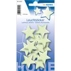 Herma: Stickere perete fosforescente - model stele