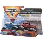 Monster Jam: Grave Digger - set cu 2 mașinuțe culori schimbătoare