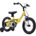 RoyalBaby Submarine: Bicicletă pentru copii - mărime 14, galben
