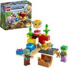 LEGO Minecraft Reciful de corali 21164