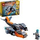 LEGO Creator: Dronă cibernetică 31111