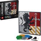 LEGO ART: Harry Potter Hogwarts címerek 31201