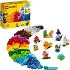 LEGO Classic: Cărămizi transparente creative 11013