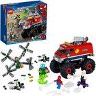 LEGO Super Heroes: Camionul gigant al Omului Păianjen contra Mysterio - 76174