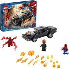 LEGO Super Heroes: Omul păianjen și Călărețul fantomă contra Carnage 76173