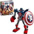 LEGO Super Heroes Amerika Kapitány páncélozott robotja 76168