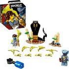 LEGO Ninjago: Hősi harci készlet - Jay vs Serpentine 71732
