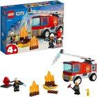 LEGO City: Camion de pompieri cu scară 60280