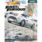Hot Wheels: Halálos Iramban - Aston Martin DB5 kisautó - ezüstszürke