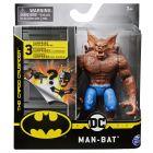DC Batman: Figurină de acțiune Man-Bat cu accesorii surpriză