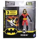 DC Batman: Figurină de acțiune Robin cu glugă, cu accesorii surpriză