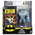 DC Batman: King Shark akciófigura meglepetés kiegészítőkkel