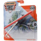 Matchbox Sky Busters: Robinson R44 Raven II helikopter - piros-fekete