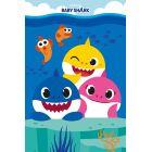 Baby Shark: Polár takaró - 100 x 150 cm