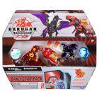 Bakugan: Baku-Gear csomag - Trox és Pegatrix - fehér-kék