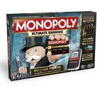Monopoly Ultimate Banking - román nyelvű társasjáték - CSOMAGOLÁSSÉRÜLT