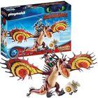 Playmobil: Cum să-ți dresezi dragonul?, Snotlout și Hookfang - 70731