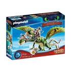 Playmobil: Így neveld a sárkányodat: Kőfej és Fafej Töffel és Böffel 70730