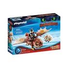 Playmobil: Cum să-ți dresezi dragonul?, Fishlegs și Meatlug - 70729