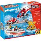 Playmobil: Tűzoltó mentőakció 9319 - CSOMAGOLÁSSÉRÜLT