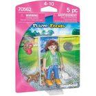 Playmobil: Fată cu pisici 70562