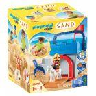 Playmobil 1.2.3: Set creativ Castelul cavalerului 70340