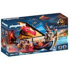 Playmobil: Burnham Raiders Fire Ship - 70641