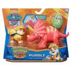 Paw Patrol: Dino Rescue - Rubble și Triceratops