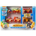 Paw Patrol: Spark - 6 mașinuțe metalice, pachet cadou