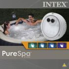 Intex: Többszínű, elemes LED fény jacuzzihoz