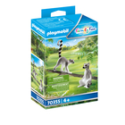 Playmobil: Lemur cu coadă inelată 70355