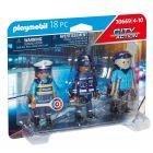 Playmobil: Rendőrfigurák szettben 70669