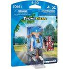 Playmobil: Băiat cu mașină controlată de la distanță 70561