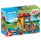Playmobil: Set starter Fermă de cai 70501