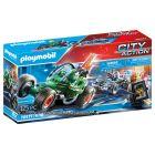 Playmobil: Rendőrségi gokart - A széfrabló nyomában 70577