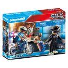 Playmobil: Rendőrségi bicikli - A zsebtolvaj nyomában 70573