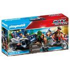 Playmobil City Action: Mașină Off-Road de poliție în urma hoțului de bijuterii