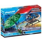 Playmobil: Rendőrségi helikopter - Ejtőernyős-üldözés 70569