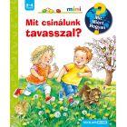 Ravensburger: Ce, De ce, Cum - Ce facem primăvara - carte pentru copii în lb. maghiară