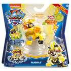 Paw Patrol: Charged Up - Figurină Rubble Mighty Pups