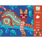 Djeco: Oaxacan - Mozaikkép készítés csillogó állatok