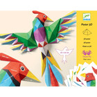 Djeco: Amazonie - Poster 3D Pasăre a paradisului