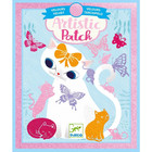 Djeco: Collages Little pets - cica