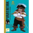 Djeco: Piratatak - Kalóz csata kártyajáték