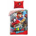 Super Mario: Kétrészes ágyneműhuzat garnitúra