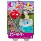 Barbie: Kerti játékszett - grillsütő kiskutyával