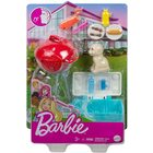 Barbie: Mini-set de joacă cu animăluțe - Grătar cu cățelușă