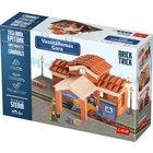 Brick Trick: Gara din cărămiduțe - set de construcție